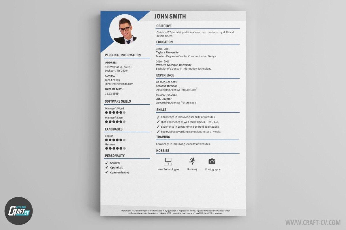 Resume Builder 36 Resume Templates Download Craftcv