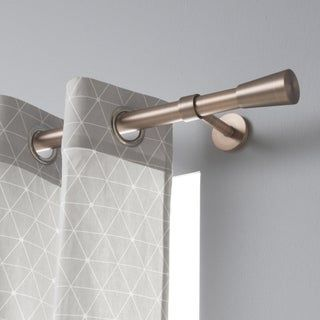 tringle a rideau design cuivre mat 200