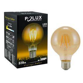 Zarowka Led Vintage Amber Polux Led Light Bulb Home Decor