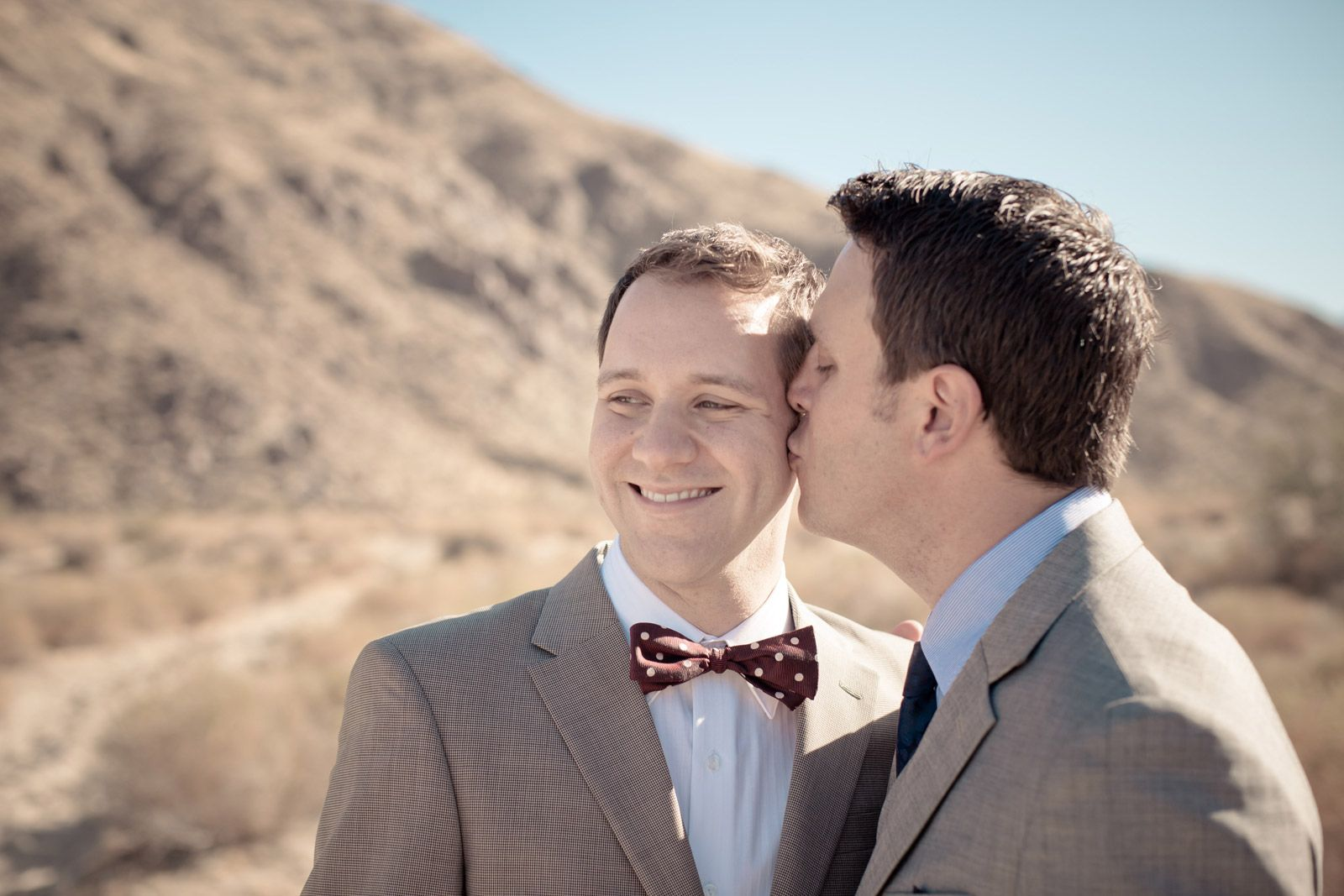 Paul and Nick's Wedding Day | Ace Hotel Palm Springs, CA | TheLongHaulPhoto.com | Wedding Photographers LA + San Diego