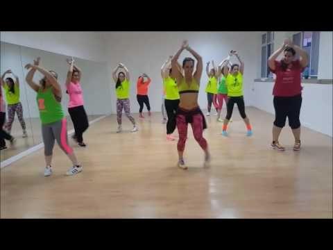 SanLuis Ft. Chino y Nacho Se Acabó coreografia by Zumba Sónia Paredes - YouTube