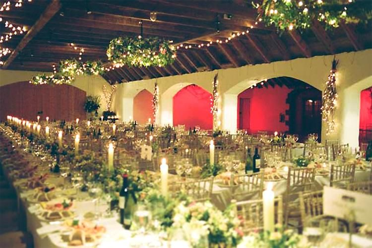 Rustic Wedding At Aswanley A Sumptuous Banquet In The Renovated Victorian Steading