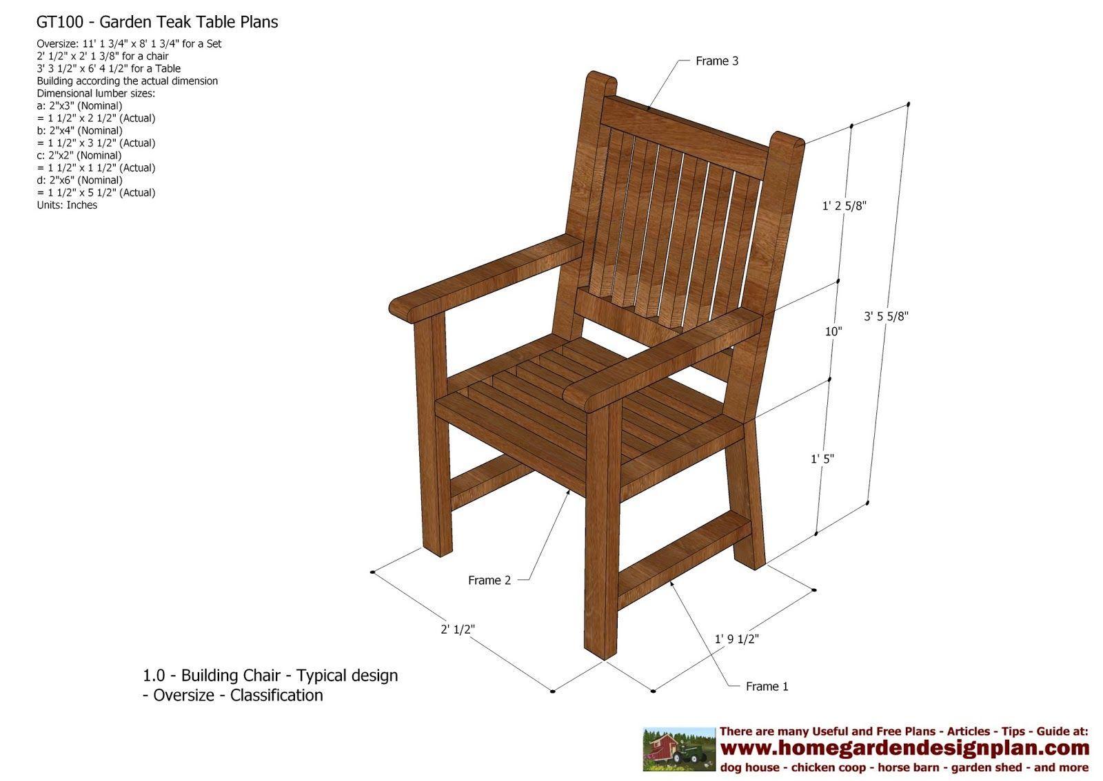 Home Garden Plans: GT100   Garden Teak Tables   Woodworking Plans   Outdoor  Furniture Plans