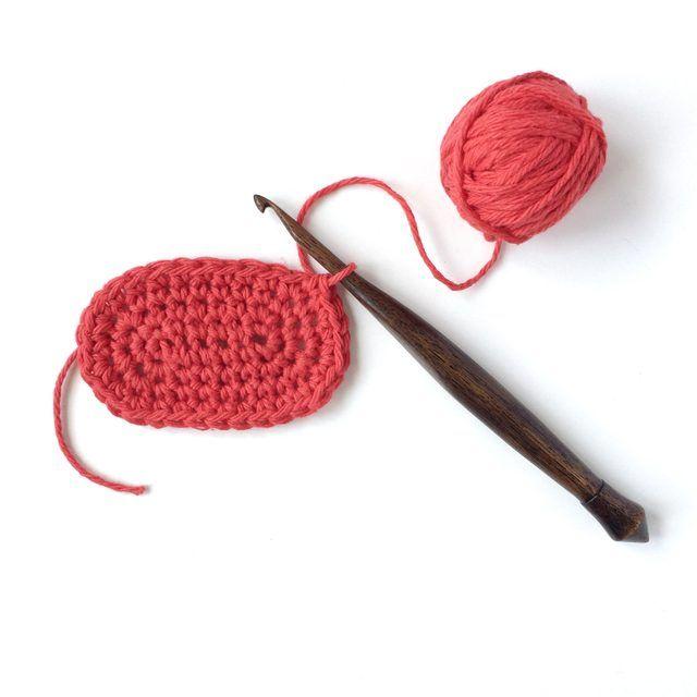 How to Crochet a Basic Oval Shape | Ganchillo, Tejido y Conceptos ...