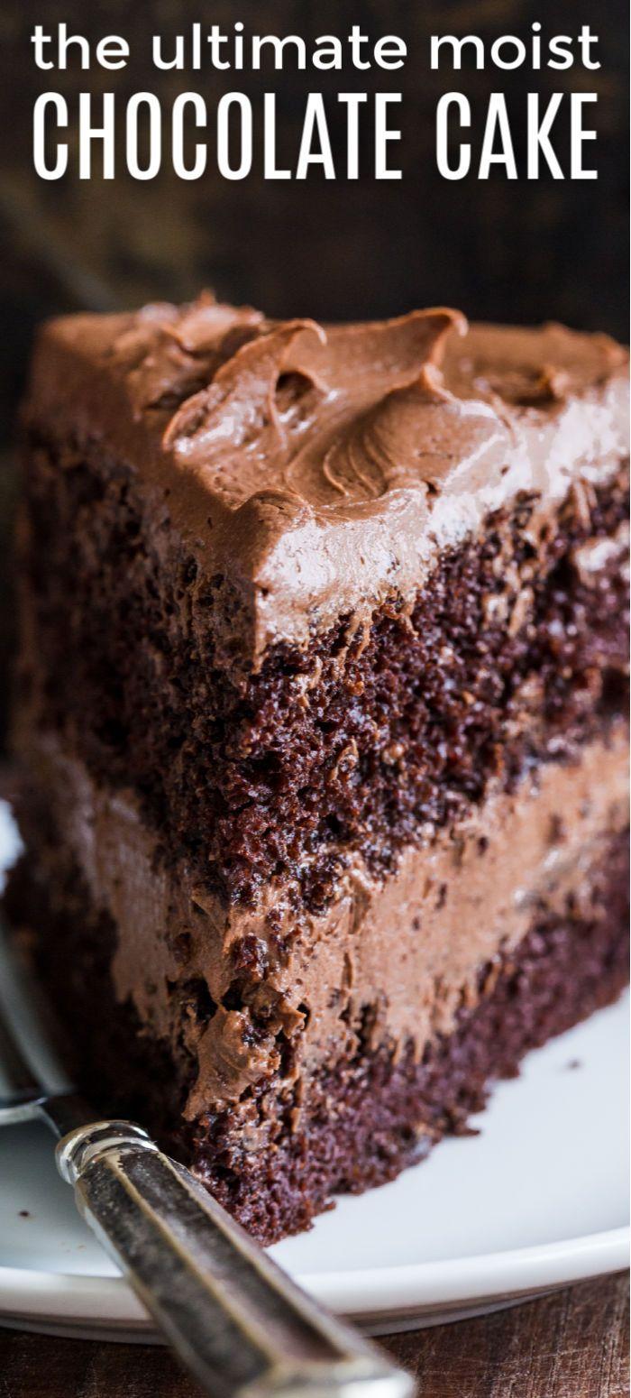 Easy Chocolate Cake #chocolatecake