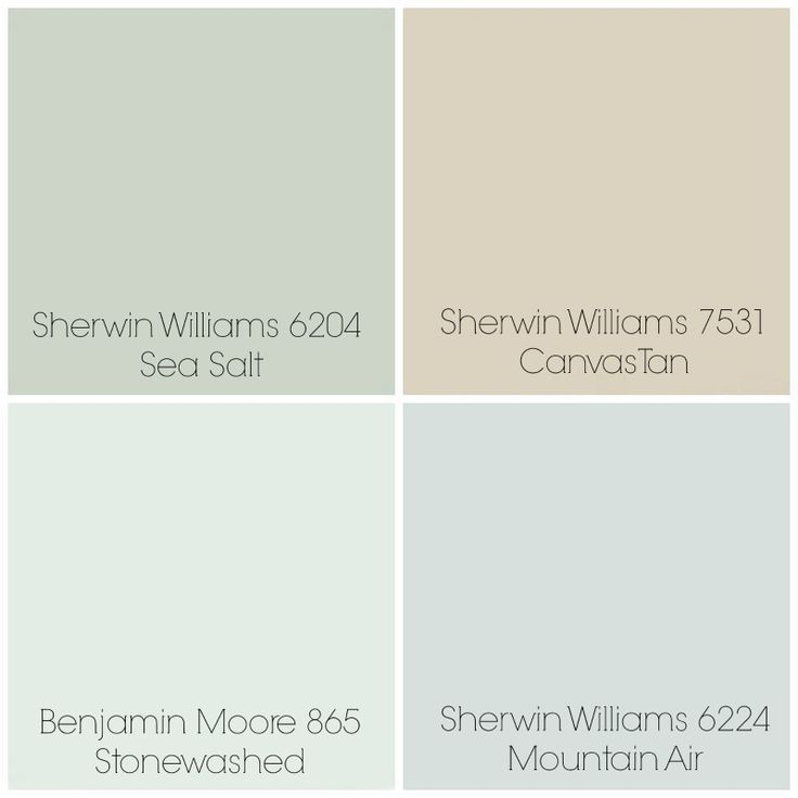 Image Result For Sherwin Williams Sea Salt Coordinating Colors
