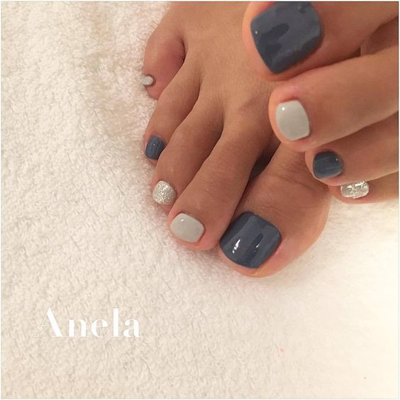 40 Cute Toe Nail Designs
