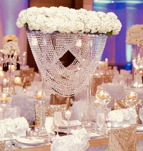 Gorgeous Chandelier Bridge Centerpiece This Is A Statement