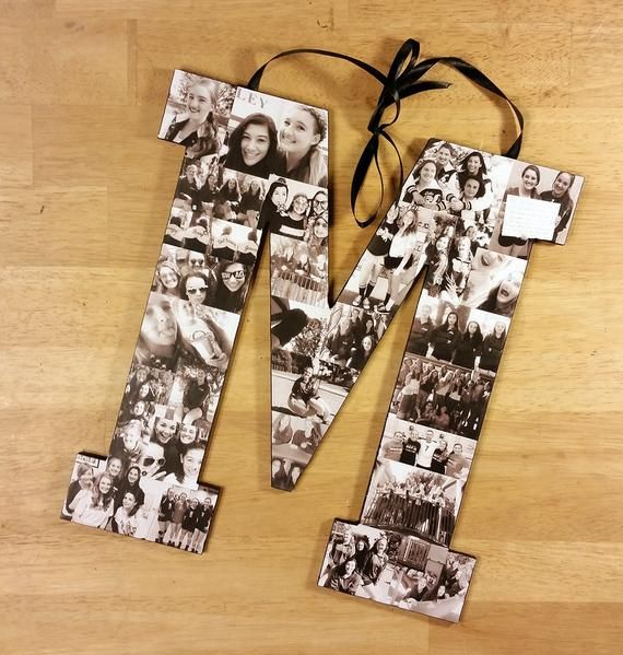 10 Inch Custom Photo Collage - Photo Collage Letter - Photo Collage on Wood  This item is for a custom order photo collage letter to show off a collection of your own photos applied to a letter, shape, symbol, or number of your choice.  These custom photo collages create a personal, and unique piece