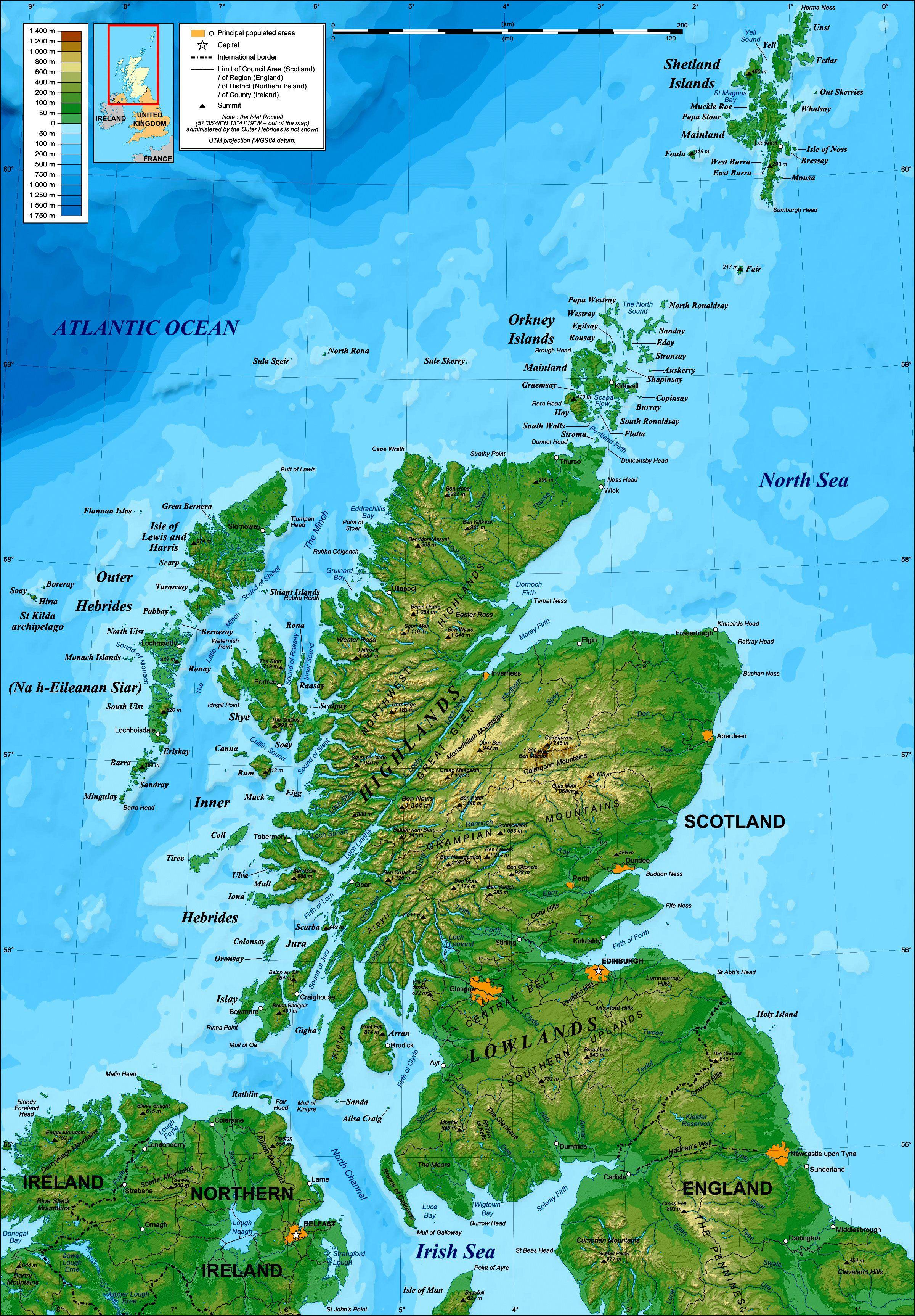 Map of scotland recherche google designvisualization map of scotland recherche google gumiabroncs Images