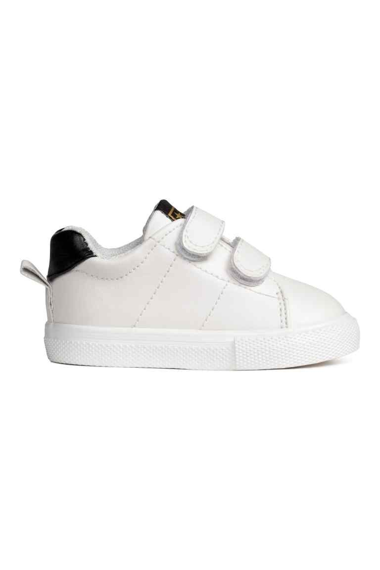 Sneakers Wit Kinderen H M Nl Kinderkleding Sneaker Riem