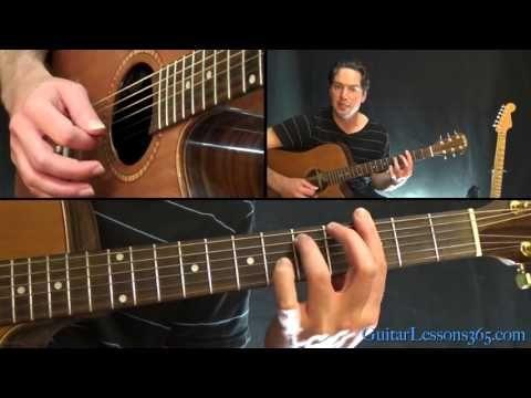 Pink Floyd - Comfortably Numb Guitar Lesson Pt.1 - All Rhythm Guitar ...