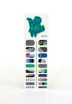 Rad+Nails+Nail+Wraps+Boob+Tube