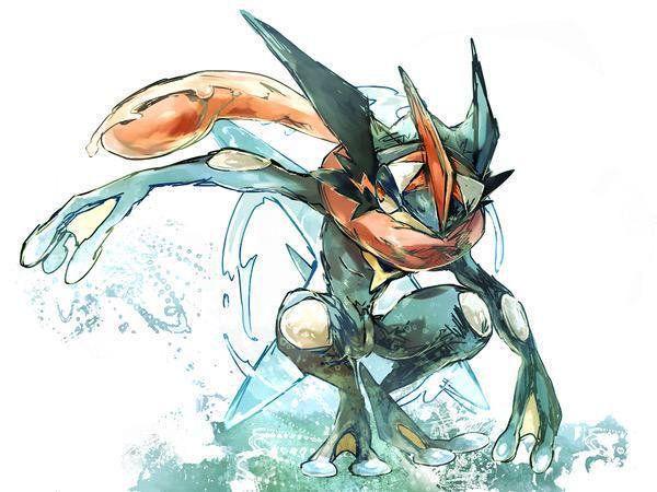 Ash Greninja Pokemon Pokemon Pictures Pokemon Drawings