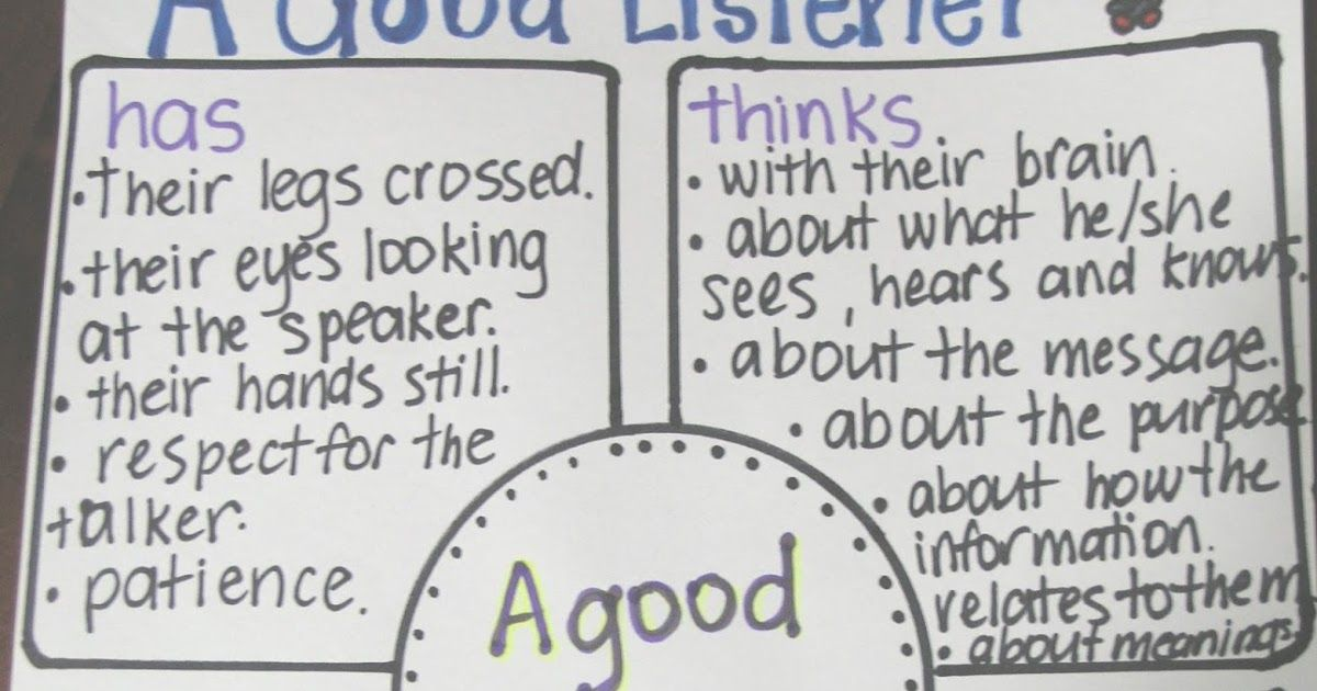 what are the characteristics of a good listener