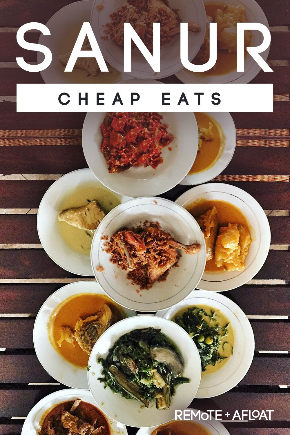 Cheap Eats in Sanur Traditional budget food in Bali