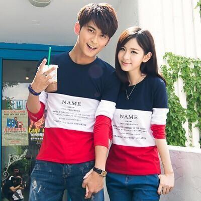 7b0d8ba4f11 Long Sleeve Couple T Shirt