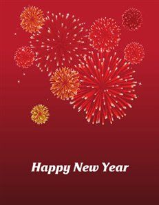 happy new year printable greeting card carte de voeux imprimable pour la nouvelle anne