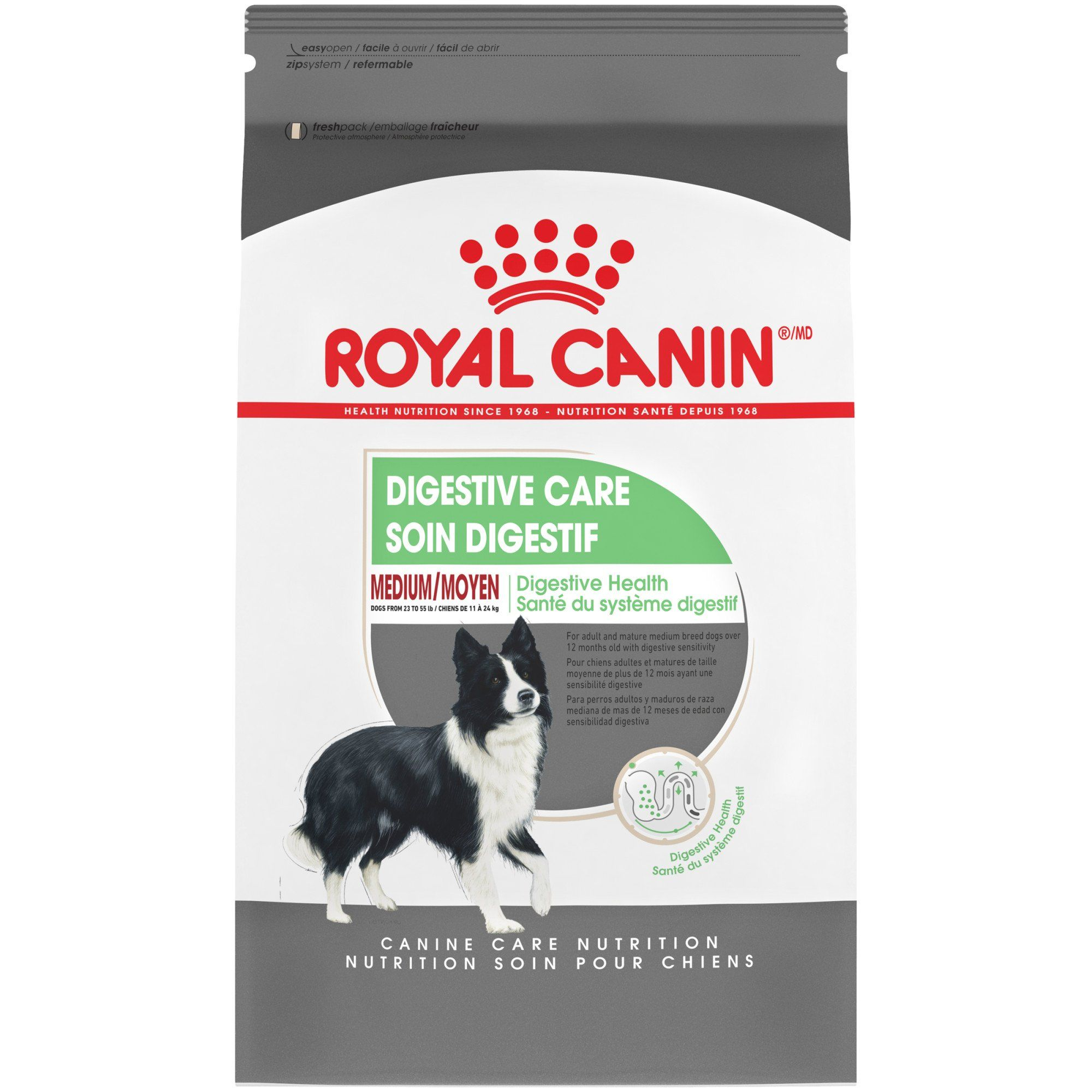Royal Canin Size Health Nutrition Medium Sensitive Digestion Dry