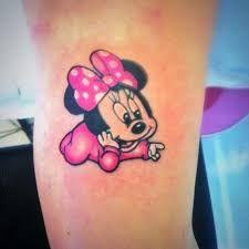 disney tattoos minnie
