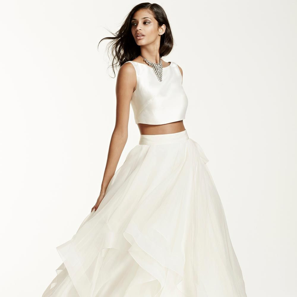 Bridal Separates Seriously Stylish Two Pieces