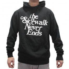 Tribute - Sweatshirt Sidewalk Never Ends