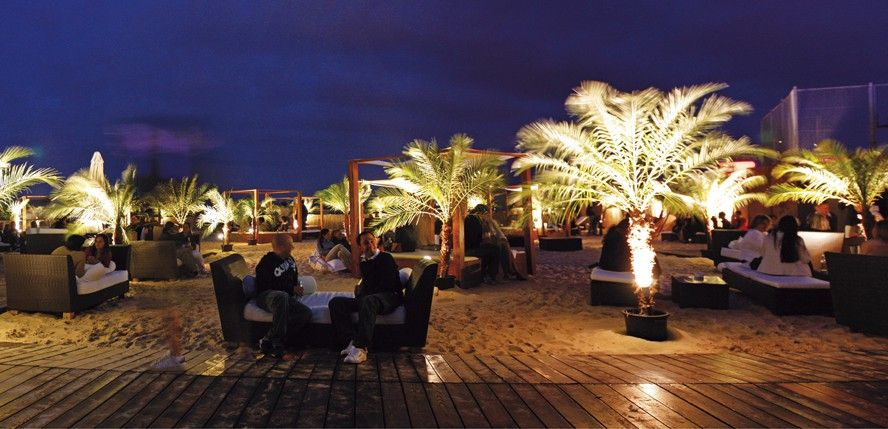 City Beach Rooftop Bar With Jacuzzi Swimming Pool Volley And Great Sights