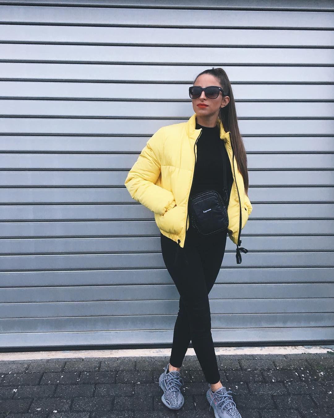 Lässiges Streetstyle Outfit für Frauen! All Black mit einer