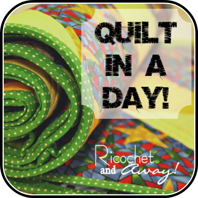 Quilt in a day | Textiles | Pinterest | Acolchados, Costura y Colchas