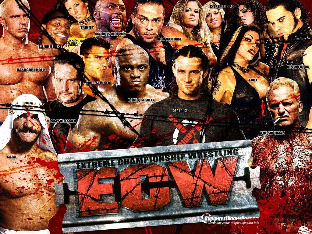 ECW Roster 2007 | Extreme Championship Wrestling | Ecw ...