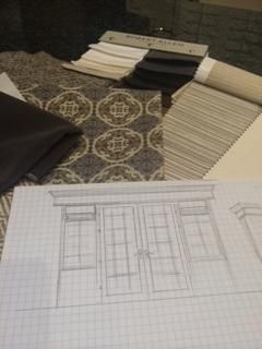 Another project in the works!!  #WHLuxe #InteriorDesigners #LindaCaruso and #JoyceGalello are working together to make this room great! #Furnishings have been selected and now the #fabric for #windowfashion to cover this lovely #Frenchdoor and #sidepanels is being chosen!  #HunterDouglas #WindowFashions #Chaddock #Fabricut #RobertAllen #HickoryChair #Frenchdoors #GreatRooms  For more information visit www.WHLuxe.com