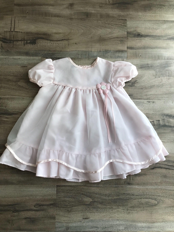 Vintage t pink baby doll dress vintage pink toddler dress t baby
