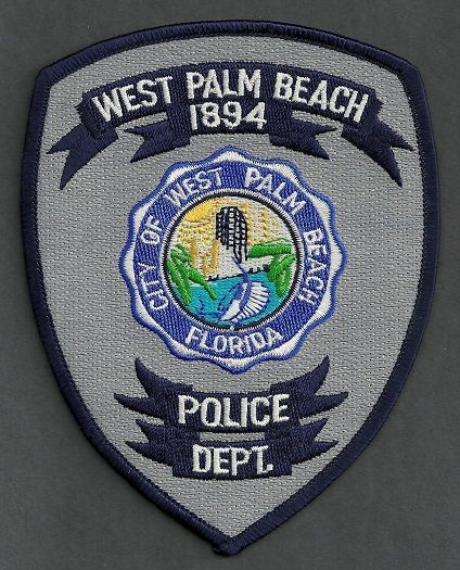 West Palm Beach Pd Fl Police Patches Police Police Badge