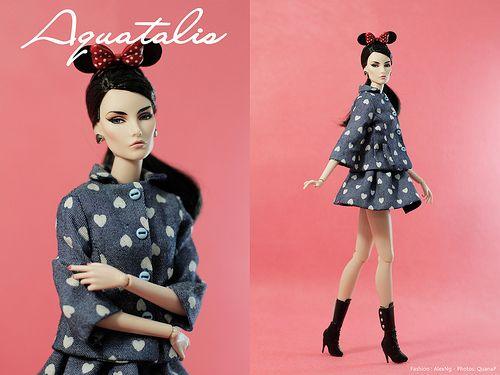 "Aquatalis "" Hearta Dot"" by AlexNg | Fashion : AlexNg Photo :… | Flickr"