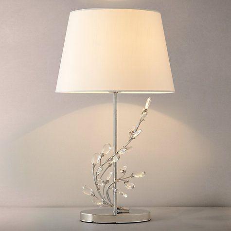 John Lewis Tess Gl Pebbles Table Lamp Online At Johnlewis