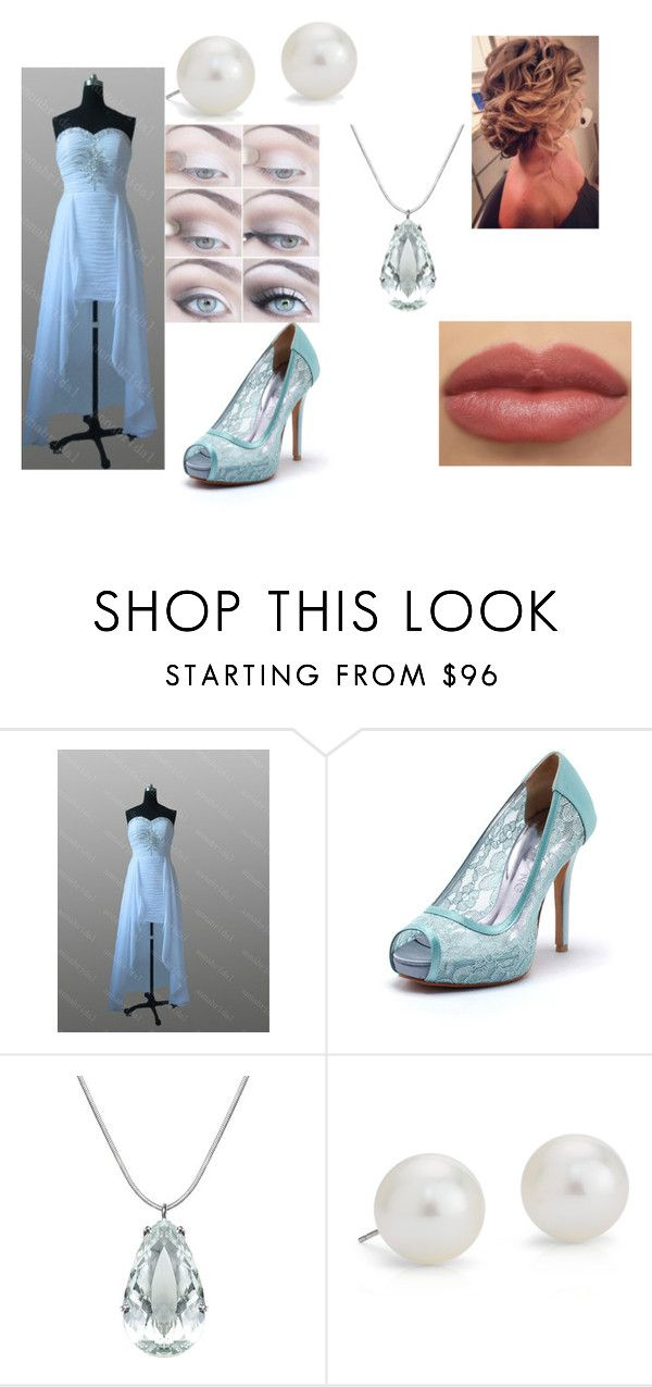 """Bridesmaids"" by theunknownrebel ❤ liked on Polyvore featuring Sarah Kosta and Blue Nile"