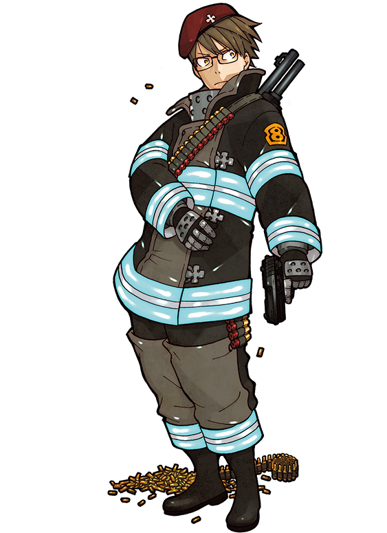 Pin by Ace Harmon on Anime art Firefighter, Fire, Anime