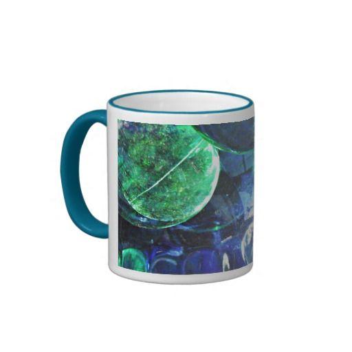Glass Abstract 73 Coffee Mug