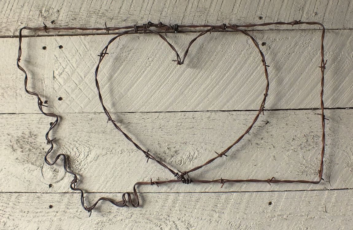 Montana Heart Wire Wall Art | Distinctly Montana Gift - Ideas for the holiday season! & Montana Heart Wire Wall Art | Distinctly Montana Gift - Ideas for ...