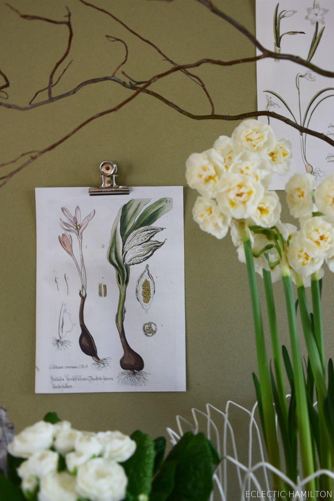 DIY Wanddeko Mit Kalenderblättern Und Brief Maul Klemme / Kreativ  Selbstgemacht Deko Dekoration Wand Wanddeko