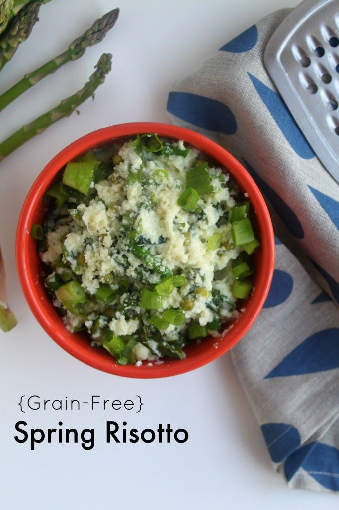 Grain-free spring risotto jewhungry kosher food blog