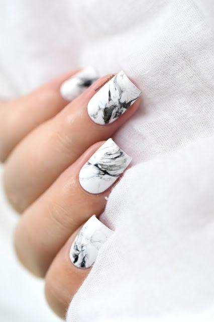 Nailstorming Rester De Marbre Video Tutorial Marble Nails