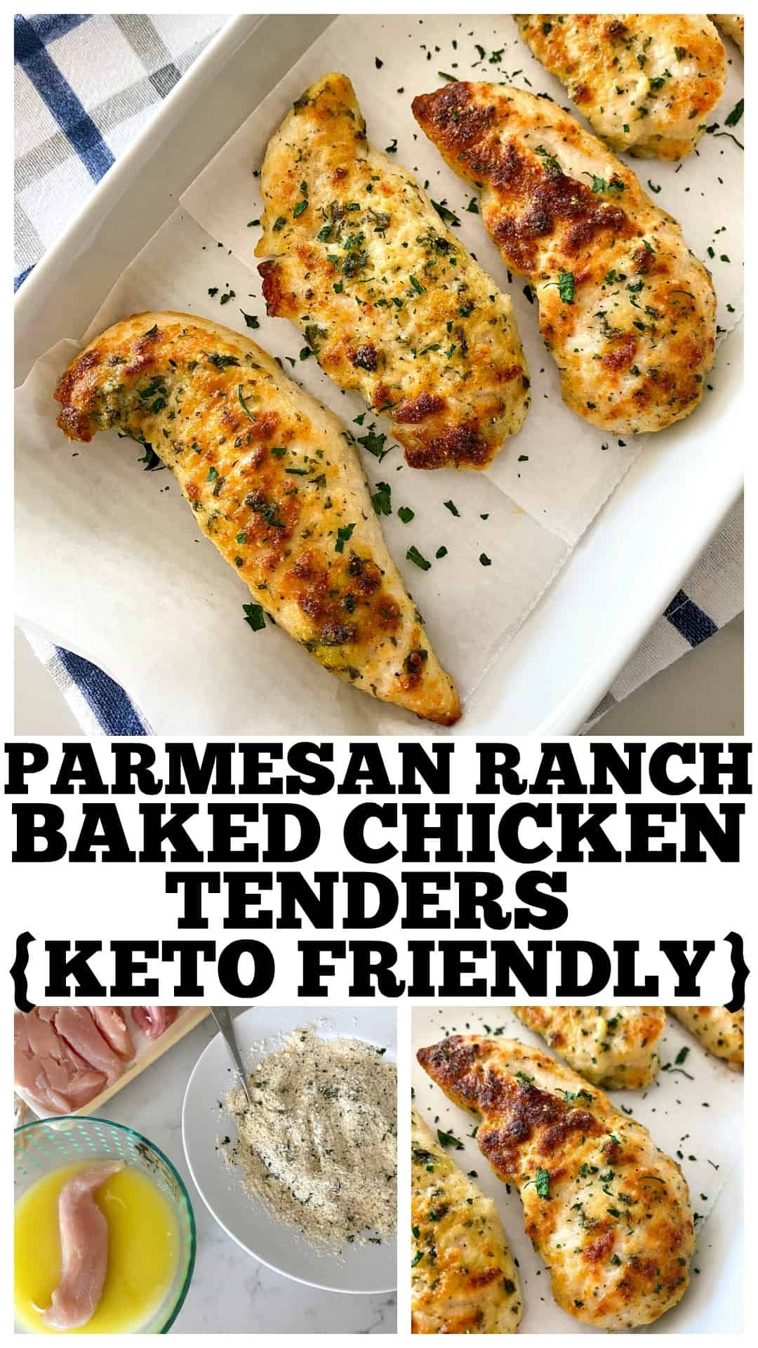 Parmesan Ranch Baked Chicken Tenders Recipe In 2020 Baked Chicken Tenders Oven Baked Chicken Tenders Baked Chicken