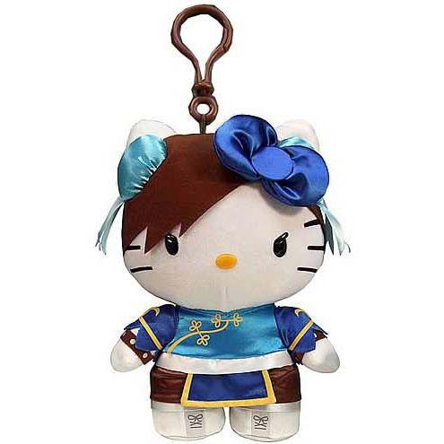Street Fighter x Hello Kitty Coinbag Keychain