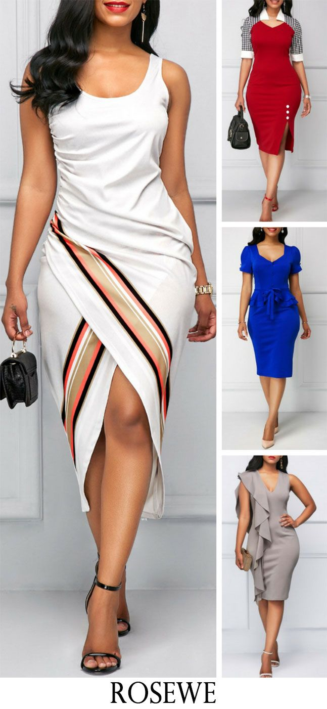 26a4f69adc0b 50 Bodycon Dress Fashion Summer. #Rosewe#dress#womensfashion | Fashion |  Pinterest | Dresses, Fashion and Womens fashion