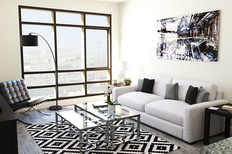 Photos Of Maple View Flats In Washington Dc Modern Apartment View Glam Chic Updated Home Dec Living Room Modern Chic Home Decor Living Room Inspiration