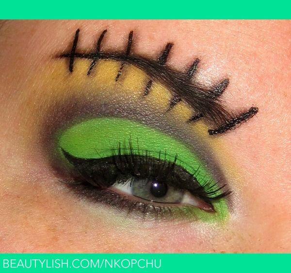 Frankenstein Makeup! | Nikki K.'s (nkopchu) Photo | Beautylish