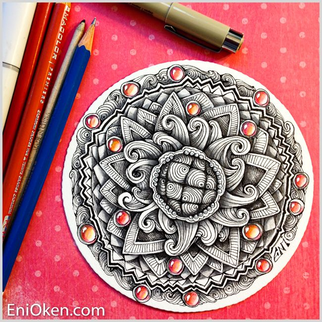 Learn how to create awesome Zentangle®️️ • enioken.com