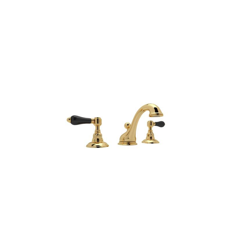 Rohl A1408LPBK-2 Country Bath Widespread Bathroom Faucet with Pop-Up ...