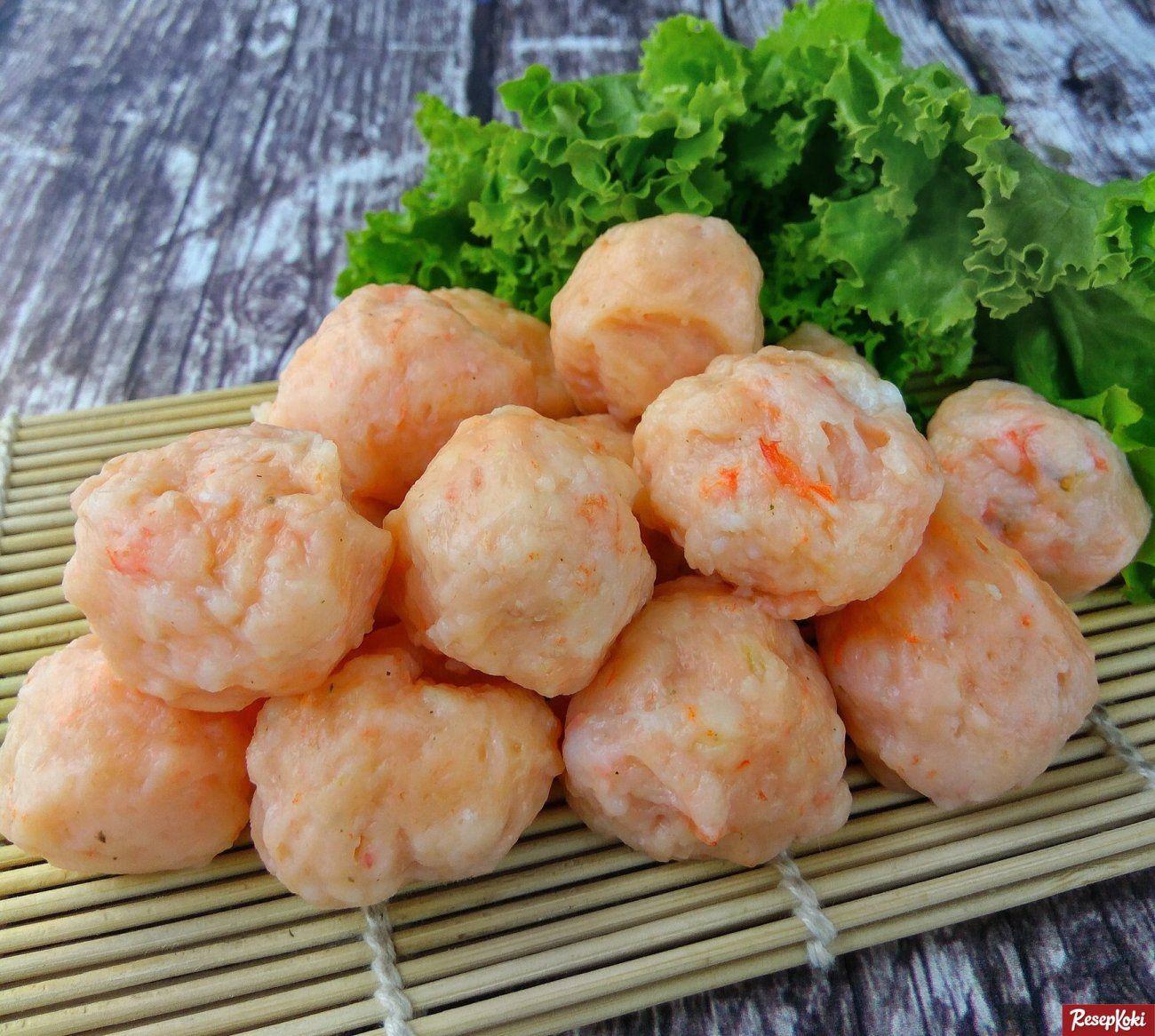 Bakso Udang Rebus Kenyal Istimewa Resep Resepkoki Resep Resep Udang Resep Resep Masakan Indonesia